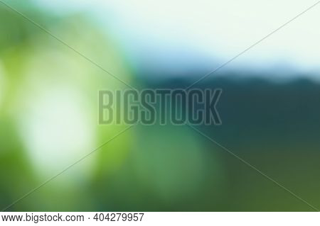 Blurred Gradient White, Dark Blue, Green Background. The Concept Of Natural Elements, Gradient. Abst