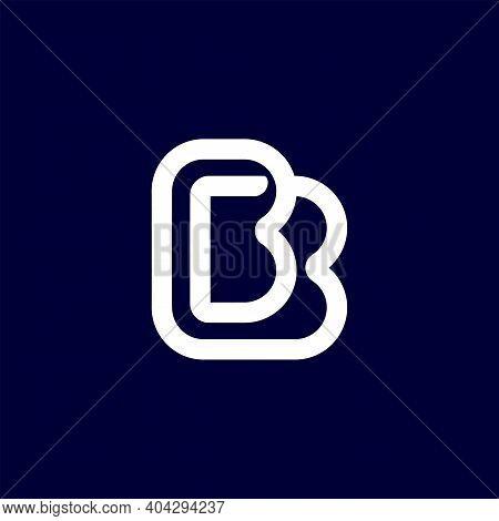 Modern Professional Logo Monogram Bb In Business Theme