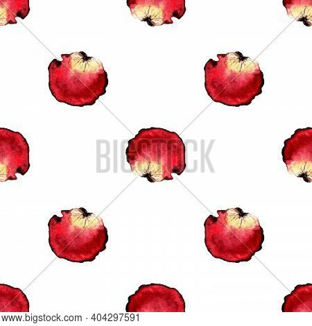 Bunch Of Petals Pink Roses Isolated On White Background Clipping Path, Image For Design And Other.se