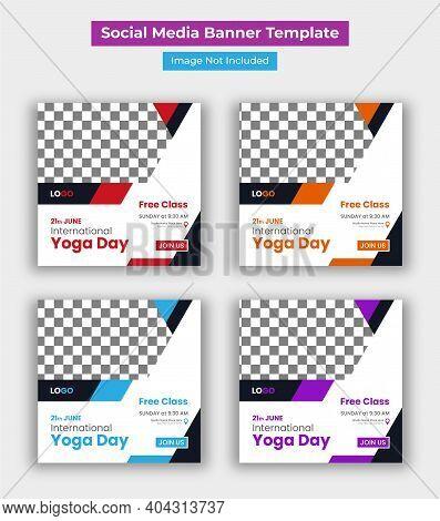 International Yoga Day Social Media Post Template