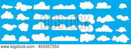 Collection Of Cloud Icon  Shape  Label  Symbol. Graphic Element Vector. Vector Design Element For Lo