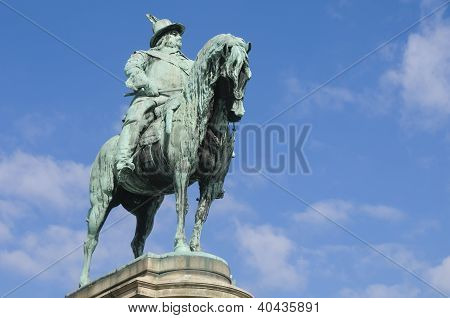 King Charles X's Statue In Malmo