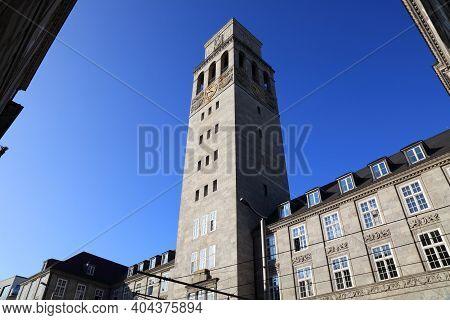 Muelheim An Der Ruhr City In Germany. City Hall (rathaus).