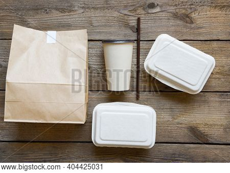 Service Food Order Online Delivery Food Box, Delivery In Take Away Boxes, Disposable Eco Friendly Pa