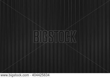 Black Corrugated Metal Background And Texture Surface Or Galvanize Steel