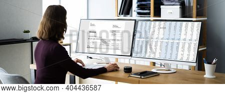 Professional Chartered Invoice And Bill Software In Office
