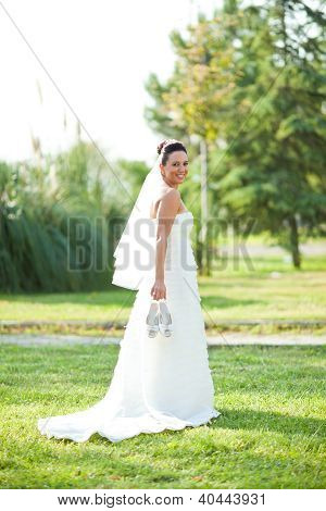 beautiful wedding bride