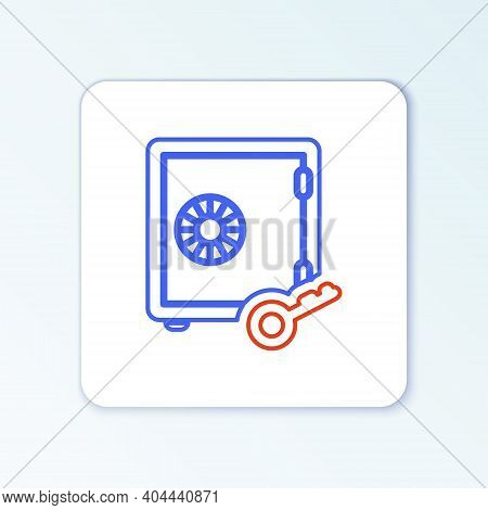 Line Proof Of Stake Icon Isolated On White Background. Cryptocurrency Economy And Finance Collection