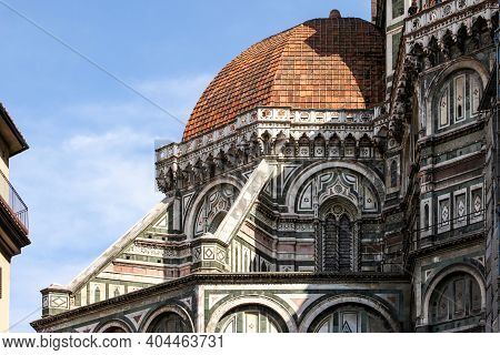 The Cathedral Of Santa Maria Del Fiore In Florence. Italy