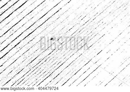Striped Grunge Overlay Vector Texture For Your Design. Empty Distressed Wooden Fiber Background. Eps