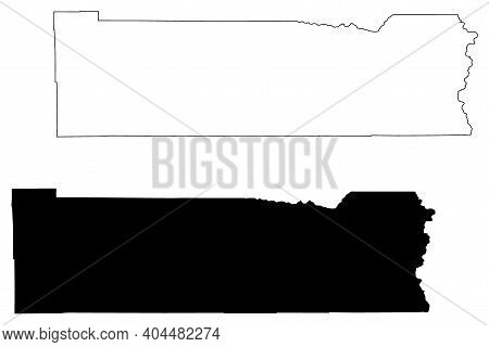 Lewis County, State Of Washington (u.s. County, United States Of America, Usa, U.s., Us) Map Vector