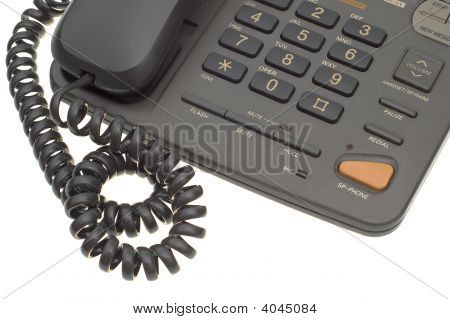 Part Of Office Phone With Cord