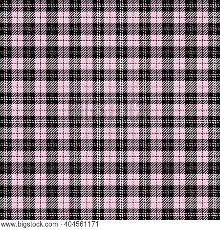 Valentines Day Tartan Plaid. Pattern Scottish Cage