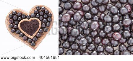 Euterpe Oleracea Amazon Berry With Antioxidant Properties