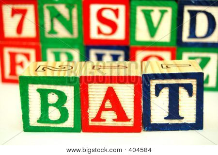 Toy Blocks - Spelling