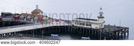 Dunoon Victorian Pier At Ferry Dock Port Argyll Scotland