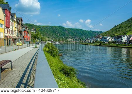 Cochem. A Small Picturesque Town At Moselle River In Rhineland-palatinate, Germany.