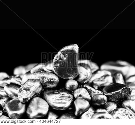 Nickel Is A Chemical Element, Pure Industrial Use Or In Metal Alloys, Corrosion Resistant, Stainless