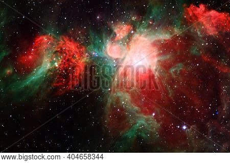 Deep Space. Nebulae. Elements Of This Image Furnished By Nasa