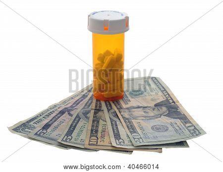 Pill Bottle Money