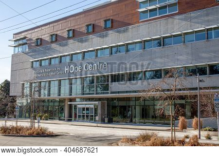 North Vancouver, British-columbia, Canada - 01-23-2021: The Greta And Robert H.n. Ho Psychiatry And