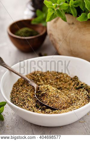 Homemade Greek Seasoning Mix With Herbs And