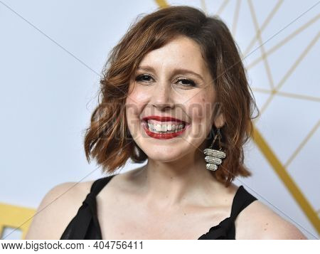 LOS ANGELES - SEP 21:  Vanessa Bayer arrives for Showtime Celebrates Emmy Eve on September 21, 2019 in West Hollywood, CA