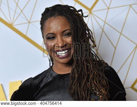 LOS ANGELES - SEP 21:  Shanola Hampton arrives for Showtime Celebrates Emmy Eve on September 21, 2019 in West Hollywood, CA