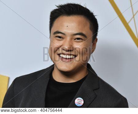 LOS ANGELES - SEP 21:  Leo Sheng arrives for Showtime Celebrates Emmy Eve on September 21, 2019 in West Hollywood, CA