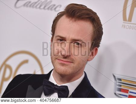 LOS ANGELES - JAN 19:  Actor Joe Mazzello arrives for the 30th Annual Producers Guild Awards on January 19, 2019 in Beverly Hills, CA