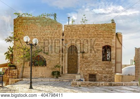 The Old Narrow Streets Of Jaffa. Israel
