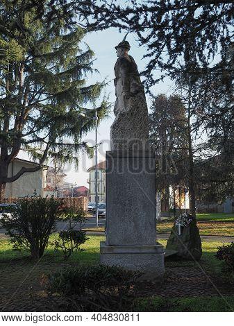 Alpini Monument In Settimo Torinese