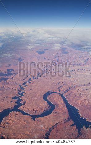Aerial Lake Powell Image