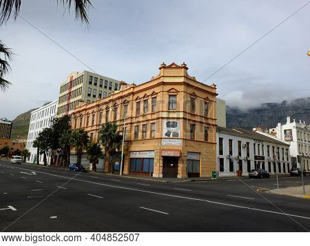 Cape Town, South Africa - 29 Apr 2012: The Street In Cape Town, South Africa