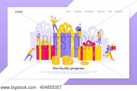 Earn Loyalty Program Points And Get Online Reward And Gifts. Get Loyalty Card And Customer Service B