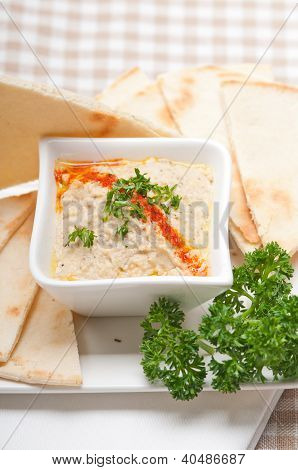 Moutabal Baba Ghanoush Eggplant Dip