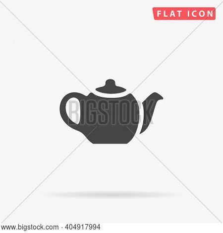 Kettle Flat Vector Icon. Hand Drawn Style Design Illustrations.