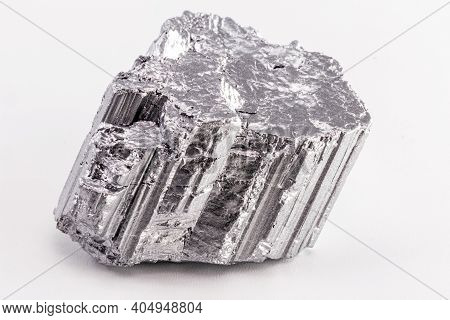 Neodymium Stone, Part Of The Rare Earth Group, The World's Strongest Magnetic Ore Used In The Techno