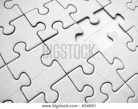 White Jigsaw