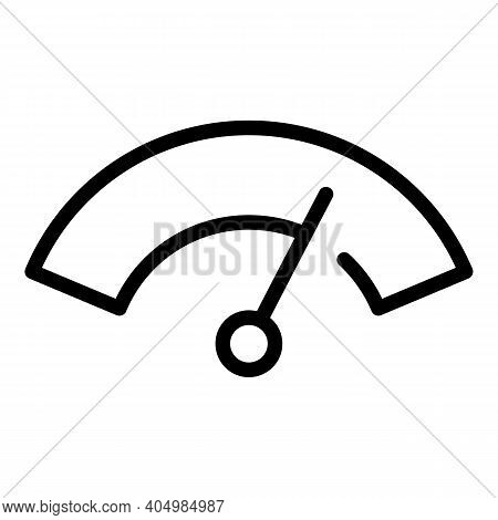 Clean Windshield Car Dashboard Icon. Outline Clean Windshield Car Dashboard Vector Icon For Web Desi