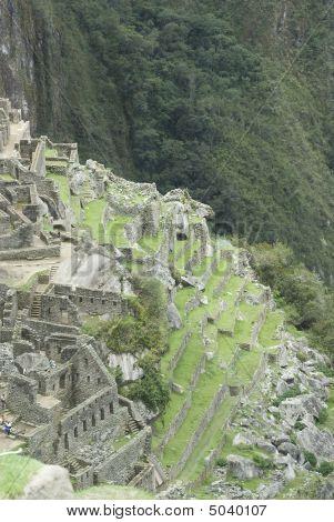 Back Side View Of Machu Picchu, Peru