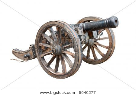 Old Cannon Cutout