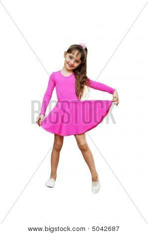 Garota Fitness Sport rosa ginástica