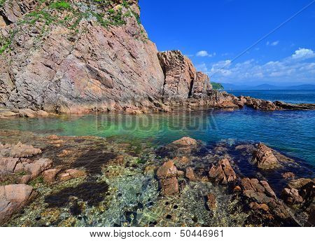 Beautiful Seascape, Coast Of Japan Sea, Seabed