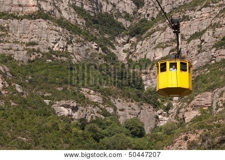 Cabin Cable Car To Montserrat