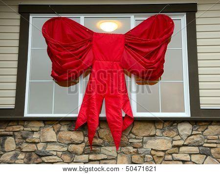 Large Christmas Bow