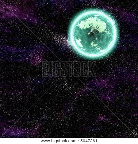 Cosmic Space Planet