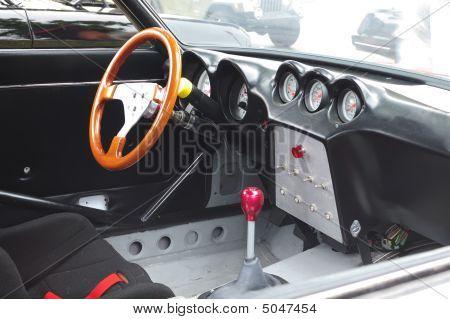Antique Car's  Interior
