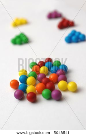 Candy Illustrates Unity Versus Division