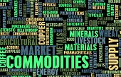 Commodities Trading on a Global Scale as Concept poster